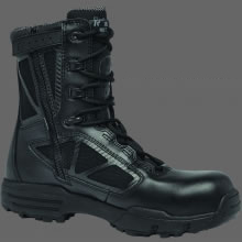 TR CHROME | TR998Z WP CT<br />8″ Waterproof Side-Zip Composite Toe Boot
