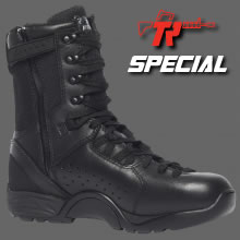 QRF | ALPHA B9Z1</BR>Hot Weather Tactical Side-Zip,  Plain Toe,  Polishable Boot